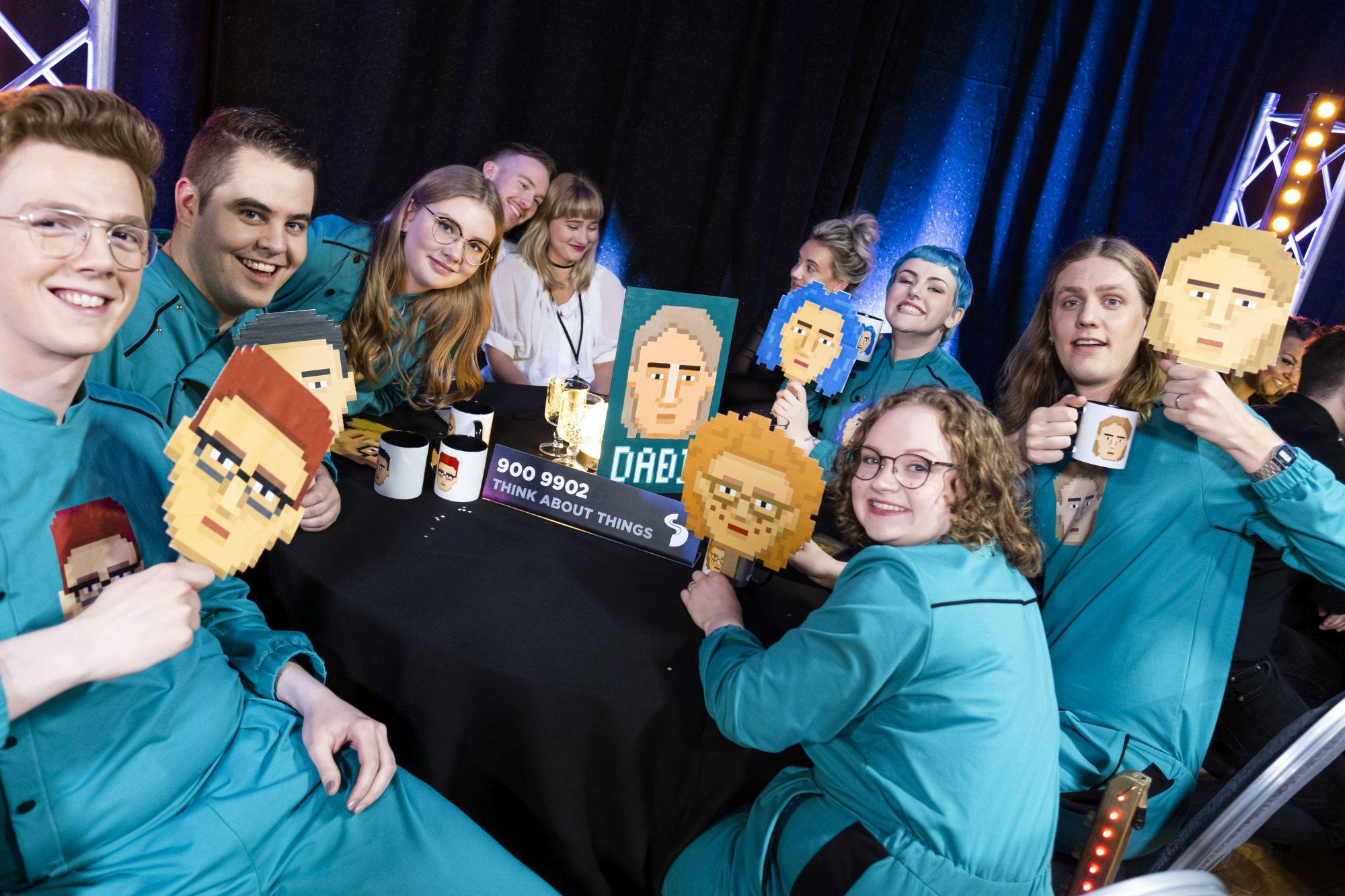 Eurovision Iceland Daði og gagnamagnið