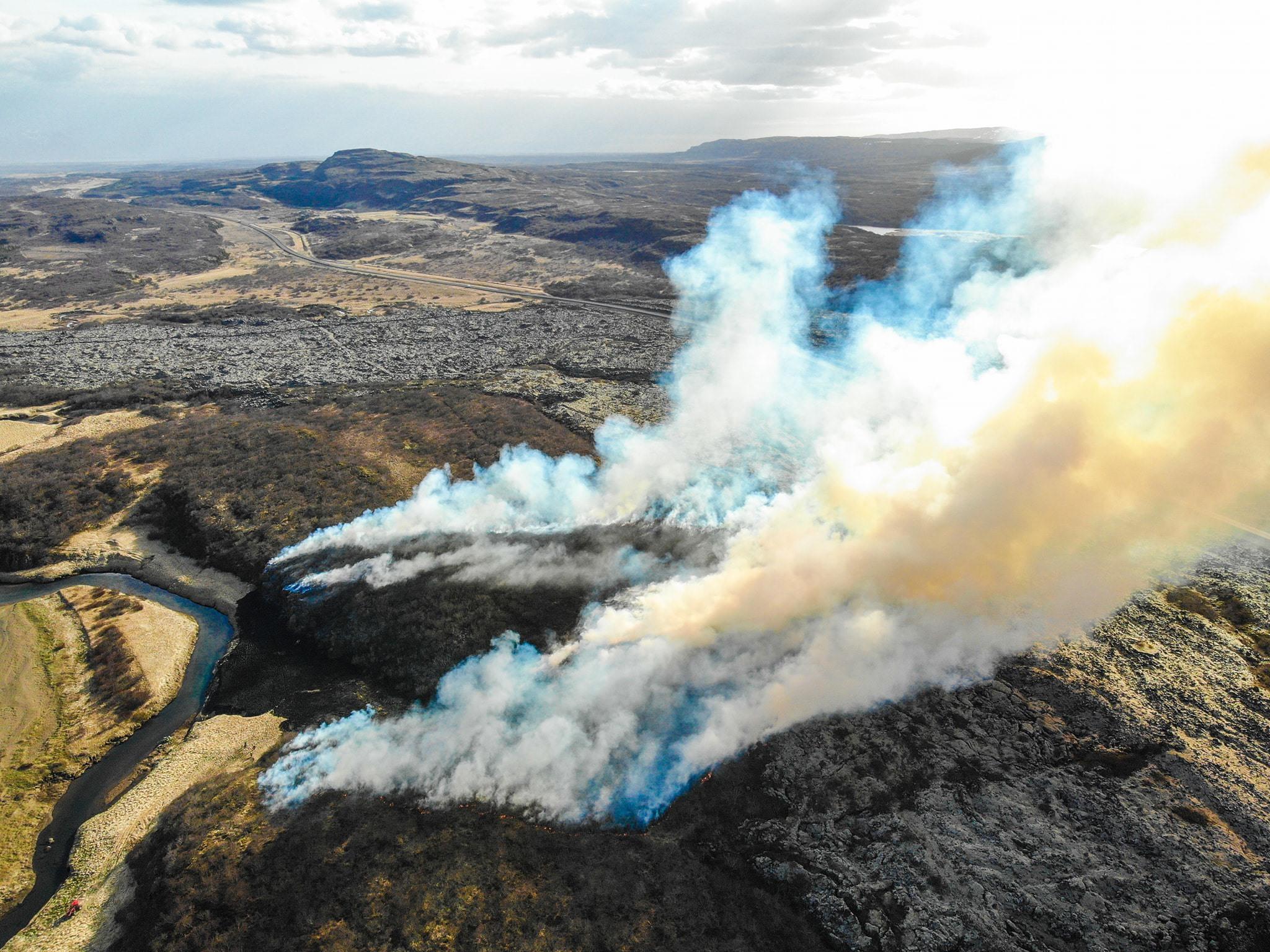 brush fire May 2020